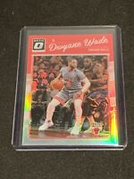 2016-17 DONRUSS OPTIC HOLO SILVER PRIZM REFRACTOR DWYANE WADE #12