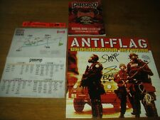 Anti-Flag - Underground network Lp signed autographed NOFX bad religion rancid