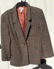 Women's Blazer Van Heusen For Her Jacket Acrylic Wool Size M