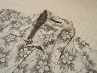 """TED BAKER Mens Shirt 🌍 Size 3 (40"""" CHEST) 🌎 RRP £110+ 📮 FANTASTICALLY FLORAL"""