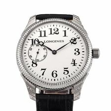 LONGINES Magnificent Watch Rare Aged 1919 Swiss Vintage Branded Movement Cal.17J
