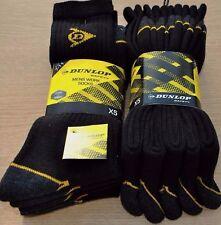 Mens 10 Pairs  Dunlop Hiking Work Walking Outdoor Socks Size 7-11 Offer Price