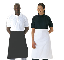 Portwest S894 Waist Apron Durable Twill Fabric PolyCotton - Black or Whte