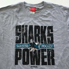 San Jose Sharks Hockey Power 2XL Long Sleeve Shirt by Reebok