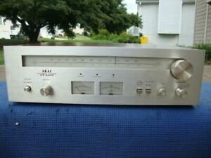 Awesome Akai AT-2400 AM/ FM Stereo Tuner - Pro Tested