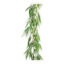 Künstliche BAMBUSGIRLANDE ca 180 cm Bambus- Girlande Kunststoff. Art.: 184253-50