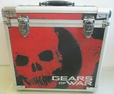 GEARS OF WAR MADCATZ  METAL STORAGE CARRYING CASE 2006 RELEASE