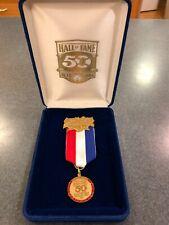 1989 National Baseball Hall of Fame 50th Anniversary Press Pin
