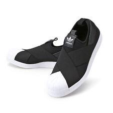 Women Adidas Originals Superstar Slip On SIZE 7 Black White S81337