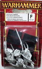 Warhammer Fantasy - GRUPPO DI COMANDO DEI BESTIGOR - 81-37 - uomini bestia
