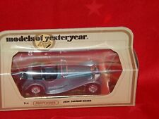 Matchbox Models of Yesteryear Y-1 1936 Jaguar SS100