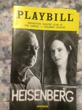 Heisenberg playbill (Sept-Oct 2016) Mary-Louise Parker Denis Arndt
