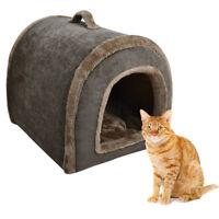 Hot Pet House Outdoor Corduroy Kennel Comfort Warmer Winter Cave Dog Sleep Bed