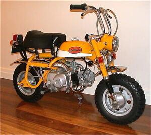 Honda Mexican Yellow Vintage Motorcycle Paint - Aerosol - Pint - Quart