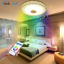 LED Deckenlampe Bluetooth Lautsprecher Musik Dimmbar Intelligente Deckenleuchte