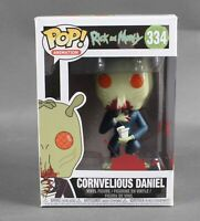 Funko POP Animation Rick And Morty #334 Cornvelious Daniel Vinyl Figure 79W