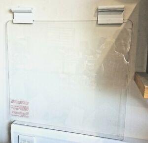 LOGIK GAS COOKER HOB CLEAR GLASS LID 580mm x 539mm Genuine (LID)