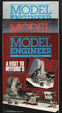MODEL ENGINEER FOUR ISSUES 1988  Vol 160  BACK ISSUES   ENGINEERING MAGAZINE