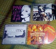 Pink promo lot cd and albums p!nk beautiful trauma what about us leave me