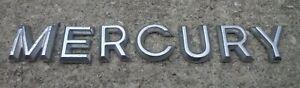 Mercury emblem letters badge decal logo Sable Mountaineer OEM Genuine Original