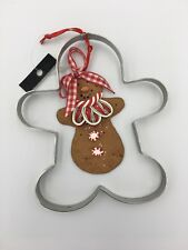 Gingerbread Man Cookie Cutter and Ornament Add-On