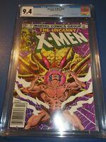 Uncanny X-men #162 Bronze age Wolverine vs Brood CGC 9.4 NM Beauty Wow