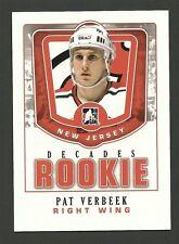 Pat Verbeek 2011 ITG Decades Rookie Hockey Card #DR-32