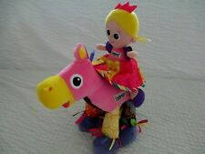 Lot 2 Lamaze Horse Lovey & Princess Sophie Doll Touch Feel Crinkle Soft Toys