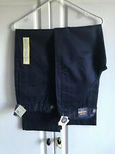 2-New Boys Cherokee Uniform Pants Size 14 Blue AdjustAble Waist Nanotex Fabric