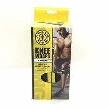 "Gold's Gym Knee Wraps One Pair 3"" x 72"""