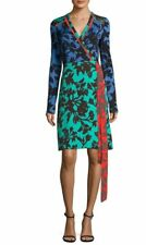 Diane Von Furstenberg Long-sleeve Wrap Dress in Brulon 14