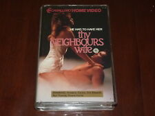 Thy Neigbours Wife VHS 1980's Comedy Caballero Home Video PAL