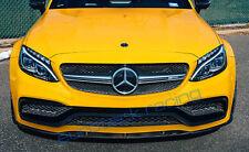 Euroteck Racing Mercedes-Benz W205 C63 AMG Coupe Carbon Fiber Front Lip Spoiler