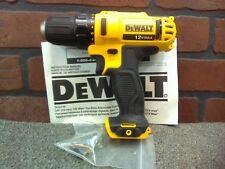 """Dewalt DCD710B 12V Max 3/8"""" Adj Clutch Drill/Driver w/Free Belt Clip-***NEW***"""