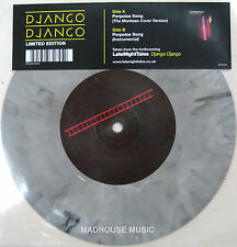 "DJANGO DJANGO 7"" Porpoise Song RECORD STORE DAY 2104 Clear Smoke Vinyl 500 Made"