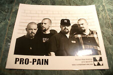 PRO PAIN OFFICIAL 8X10 1999 PROMO PICTURE  MINT NEVER USED RARE HTF OOP