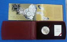 1998 Singapore Mint's 30 Striking Years Tripartite Fan-Shaped Silver Proof Coin