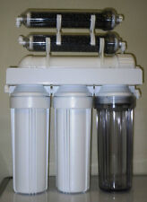 Aquarium Reef Reverse Osmosis water filter  6 stage RO/DI SYSTEM 75 GPD USA