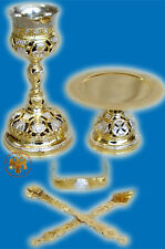 Orthodox Chalice Set Byzantine Style With Saints B Eucharistie Liturgie Messe