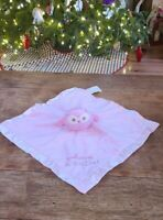 "Kohl's Stepping Stones ""Whoo's A Cutie"" Owl Lovey Security Blanket 13"""