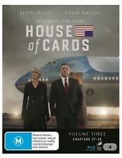House Of Cards : Season 3 - Blu Ray 4 Disc Region B (Kevin bloody Spacey) New