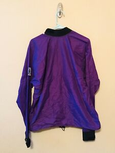 Vintage Men's Women's Kokatat Lightweight Kayak Sailing Pullover Top Purple Sz L