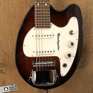 Phantom Guitarworks Mando Guitar 12-String Octave Guitar Tri-Burst w/ Gig Bag