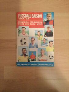 Sicker Fußballalbum 1967/68! Komplett! Top!!!