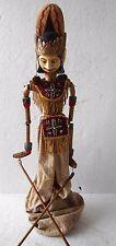 Muñeco de madera Wayang Marioneta De Golek Títeres de varilla Original GSS25