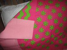 LITTLEMISSMATCHED KOMBOZE KOOKY DAISY GREEN PINK FLORAL (1) STANDARD PILLOWCASE
