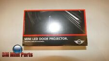 MINI Genuine LED Door Projectors 63312414106