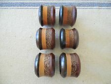 Layered Multi Wood Napkin Rings