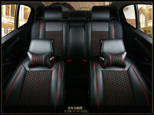 Universal size ice silk and leather car cushion pad fit for most cars 4 Seasons