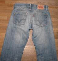 """Wow Levi `S 506 Standard D' Homme Jeans / Levis Bleu Jeans en Bleu W31 """" / L34 """""""